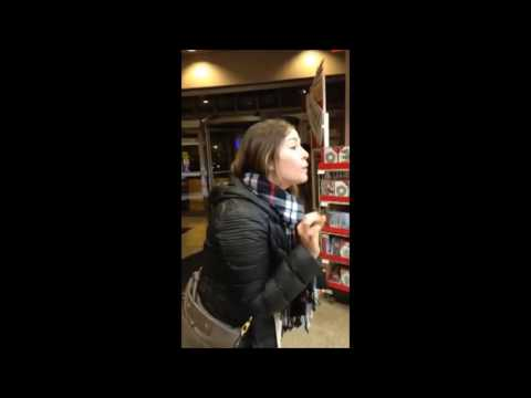 Racist White Woman Trump Rant in Chicago Store 11/23/16