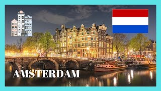 Videos van steden en landen als ecard, Lets go for a walking tour of Amsterdam this..