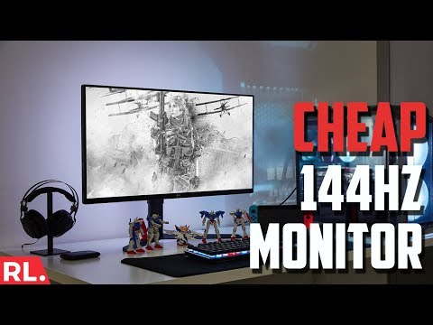 Download Best Budget 144hz Gaming Monitor Asus Vg248qe Video 3GP Mp4