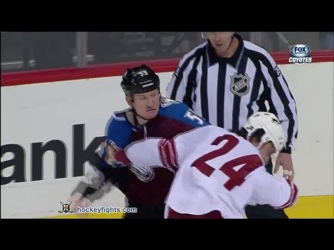 Cody McLeod vs. Kyle Chipchura
