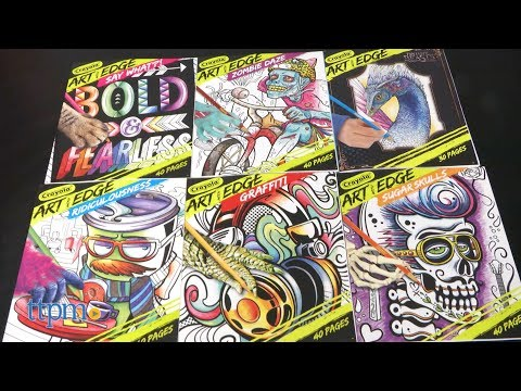 Art With Edge Graffiti Coloring Book From Crayola