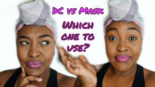 Deep Conditioner Vs Mask / Masque For Natural Hair | YemuDaily