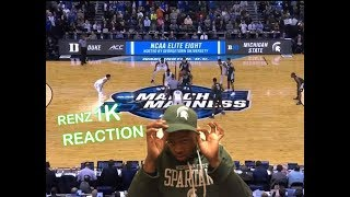 Michigan State Vs Duke Highlights -Reaction