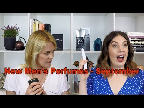 New Men's Perfumes – September | The Perfume Pros