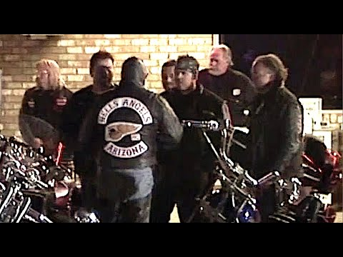 Hells Angels Are Looming Nearby... !!!