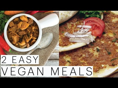 Vegan Turkish PIZZA | Lahmacun Recipe | Vegetarian Goulash | VEGAN Meal Ideas | The Edgy Veg