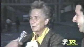 Memorabile sfogo anni '80 della signora Viola in onda su TVR VOXSON