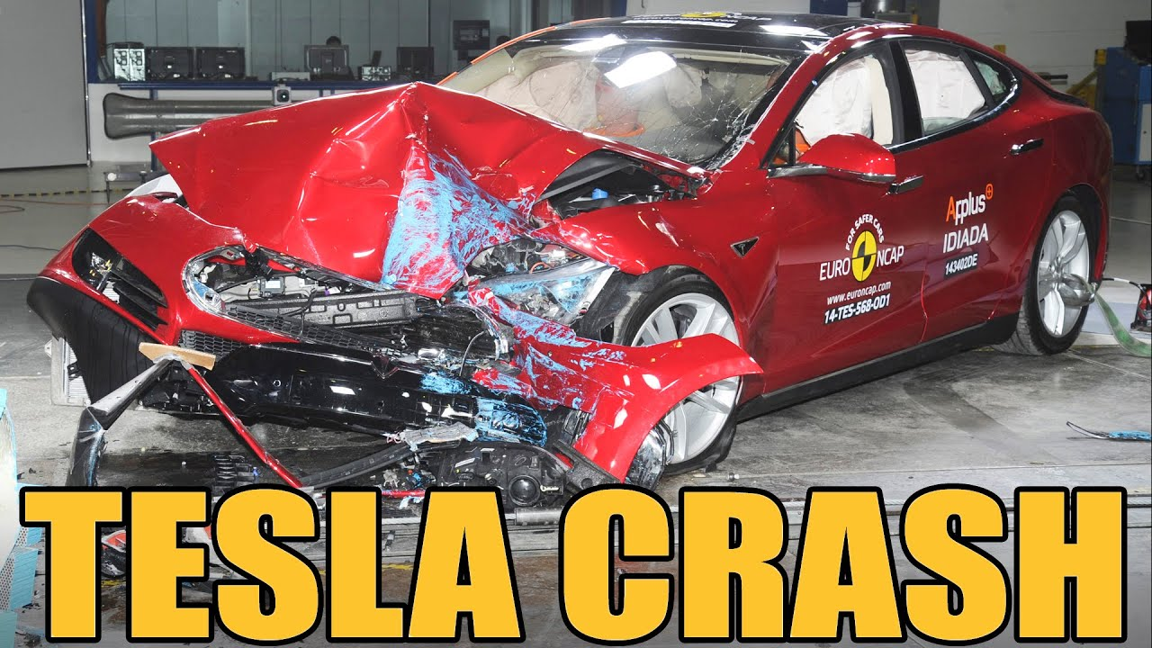 Crash Testing A Tesla Model S Is Heartbreaking Safety Porn