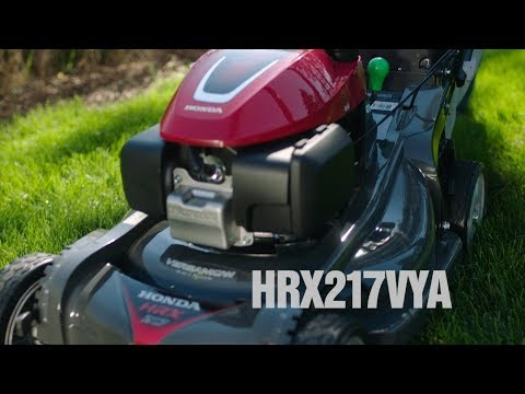 2020 Honda Power Equipment HRX217VYA GCV200 Self Propelled in Saint Joseph, Missouri - Video 1