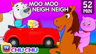 Three Little Kittens Went To The Farm - Farm Animals Nursery Rhymes by Cutians™ | ChuChu TV