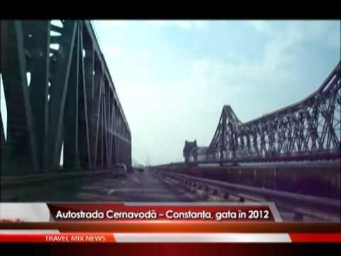 Autostrada Cernavodă – Constanţa,  gata în 2012 – VIDEO
