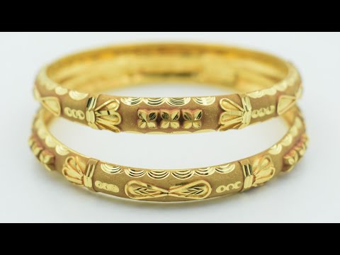 24K Gold Bangles Making   How it's made   Gold Jewellery Making - Gold Smith Jack