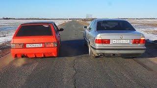 ТАЗ НА ШЕСНАРЕ ПРОТИВ BMW e34! ЭПИЧНАЯ БИТВА!