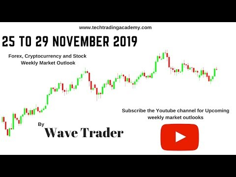 Cryptocurrency, Forex and Stock Webinar and Weekly Market Outlook from 25 to 29 November 2019