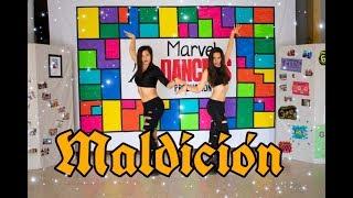 Maldición - Lola Indigo, Lalo Ebratt | Coreo Fitness (Zumba Fitness) by Marveldancers