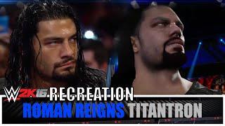 Roman Reigns 2015 Titantron HD *WWE 2K16 Recreation*