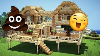 b.k götüren ev vs güzel ev  minecraft modern evler