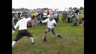 preview picture of video 'Dumfries Border Gathering - Backsword Tournament 2009'