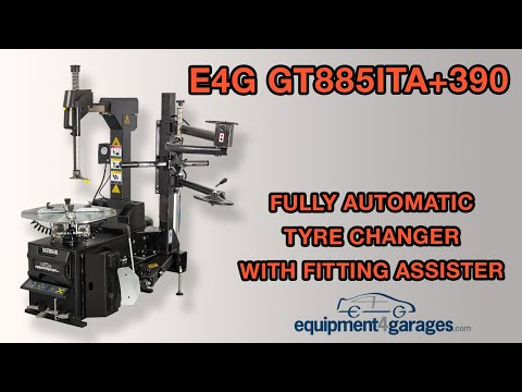 E4G GT885ITA+390 Fully Automatic Car Tyre Changer