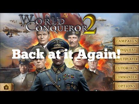 Back to World Conqueror 2! Conquer Europe 1943 Romania part 1