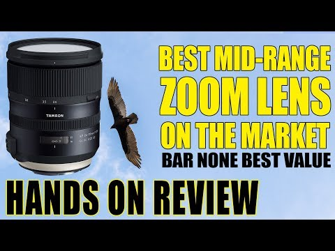 Best Mid-Range Zoom Lens On The Market! Hands On Review TAMRON SP 24-70MM F/2.8 Di VC USD G2