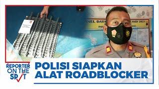 Antisipasi Tindak Pidana di Pos Penyekatan, Pospam di Boyolali Difasilitasi Alat Roadblocker