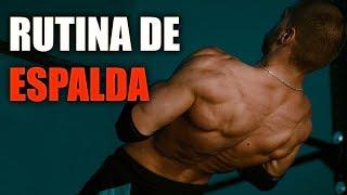 Rutina de Espalda Musculosa y Fuerte (Aborda Todos los Músculos)
