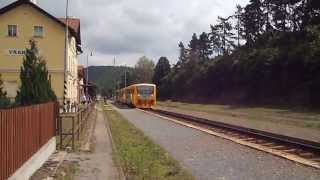 preview picture of video 'ČD 814.225 Vrané nad Vltavou'