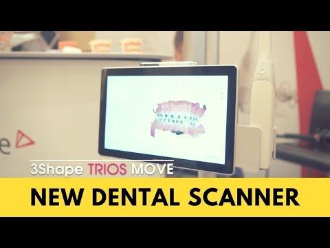 SCANNING 3Shape TRIOS 3 WIRELESS - смотреть онлайн на Hah Life