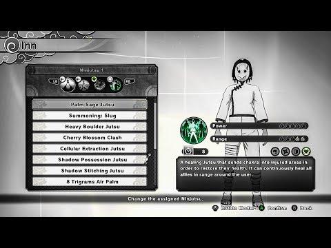Download Naruto Shinobi Striker All Heal Type Jutsu So Far Video 3GP