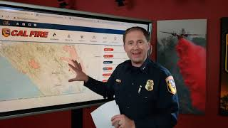 Cal Fire updates California wildfires | August 21, 2020