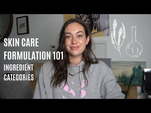 Skin Care Formulation 101: Ingredient Categories