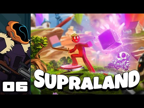 Let's Play Supraland - PC Gameplay Part 6 - We're Painting The Crystals White!