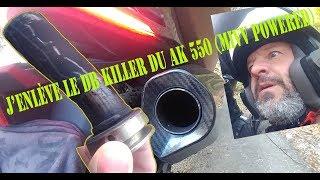 J'enlève La Sourdine Du MIVV Edge Sur Le KYMCO AK 550