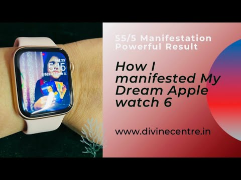 55/5 Manifestation - 🧿😱I Manifested Apple Watch 6 ⌚️ ✍️ - From Apple India Store