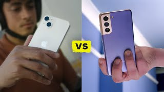 Apple iPhone 13 vs Samsung Galaxy S21 (Watch their reveals)
