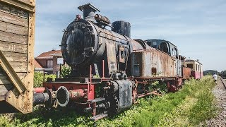 Abandoned Steam Train Graveyard