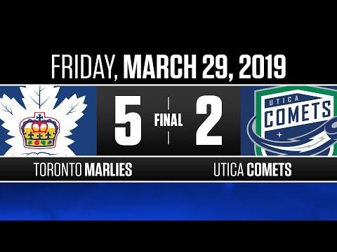Marlies vs. Comets | Mar. 29, 2019