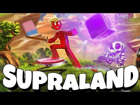 DESAFIOS DO STICKMAN! Supraland #9