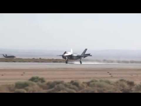 F-35B Wet Runway and Crosswind Landing Tests