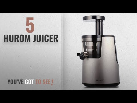 , Hurom Elite Slow Juicer Model HH-SBB11 Noble Silver with Cookbook