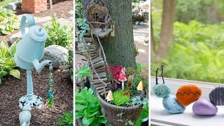 10 DIY Garden Art Ideas