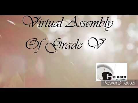 Grade V assembly by isha and divya