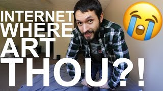 Internet Issues & Housewarming Gifts For Our New Apartment