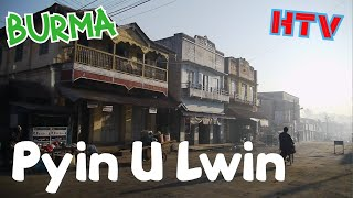 preview picture of video 'Pyin Oo Lwin, a hillstation in Burma'