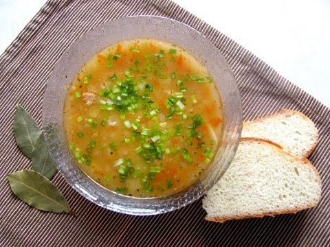 Суп из рыбных консервов горбуша//Экономное меню