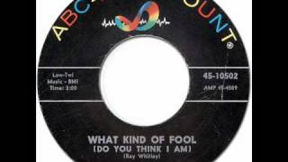 THE TAMS - What Kind Of Fool [ABC Paramount 10502] 1963