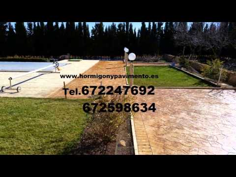 Presupuesto y Precio Hormigon Impreso  Arandilla Tel.672247692 Burgos
