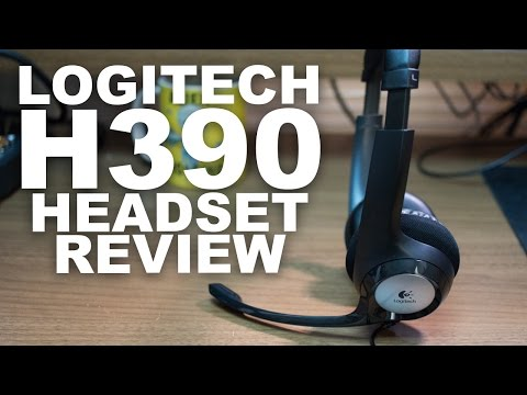 Logitech Clear Chat Comfort H390 USB Headset Review / Test