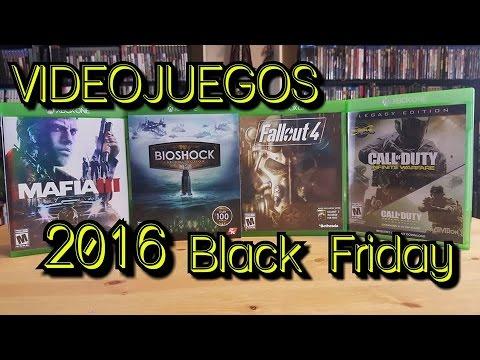 Unboxing Videojuegos de Black Friday 2016 |BEST BUY|